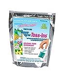 Thetford Aqua-Kem Garden Mist Toss-Ins RV Holding Tank Treatment - Deodorant/Waste Digester/Detergent - Pack of 12 96130