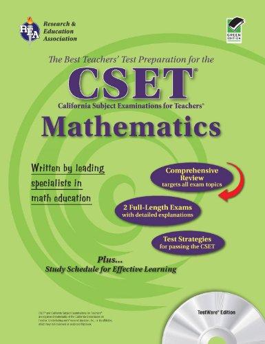 CSET Mathematics Grades 7-12 (CSET Teacher Certification Test Prep)