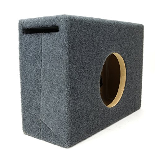0.25 ft^3 Ported MDF Sub Woofer Enclosure for Single JL Audio 6.5