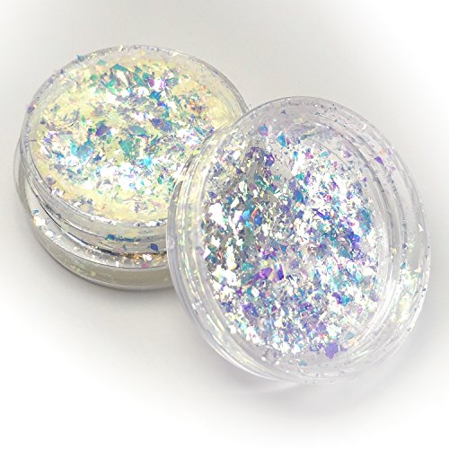 Lumiere Lusters Gold Dust Opal Dichroic Opal Flake Art Pigments by Lumiere Lusters