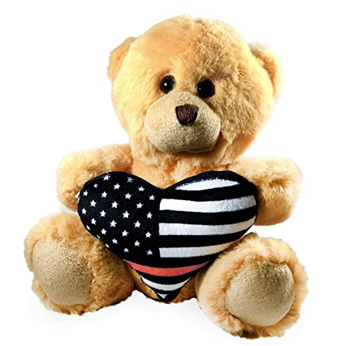 Teddy Bear · Thin Red Line - Firefighter Teddy Bear