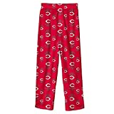 MLB Infant/Toddler Boys' Cincinnati Reds Printed Pant, Red, Medium (3T)
