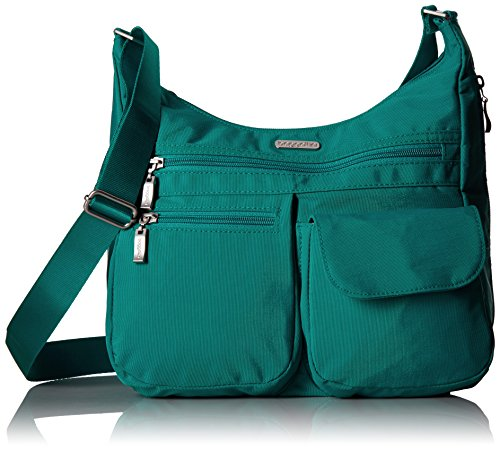 Baggallini Everywhere Bagg with Rfid, Teal