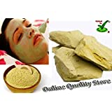 Online quality store 100 % Pure Herbal Multani Mitti (Fuller Earth stone) - 450gms STONE FORM - Best Quality in Offer Price