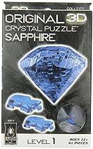 Original 3D Crystal Puzzle - Sapphire