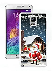 Personalize offerings Santa Claus White Samsung Galaxy Note 4 Case 15