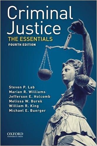 Criminal Justice: The Essentials book pdf - JS Photography
