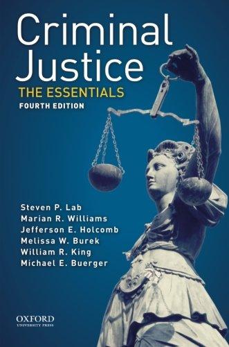 Criminal Justice:Essentials