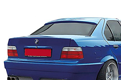 Euro ABS Roof Extension Rear Window Cover Spoiler Wing Trim For BMW E36 Sedan M M3 (Skirt Extension Rear)
