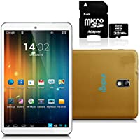 inDigi Gold 7 Android 4.2 JB Premium Leather Back Tablet PC w/ 32GB Micro SD