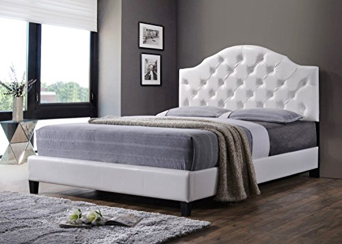 As Quality Luxury Tufted Bed Frame With Headboard And Footboard