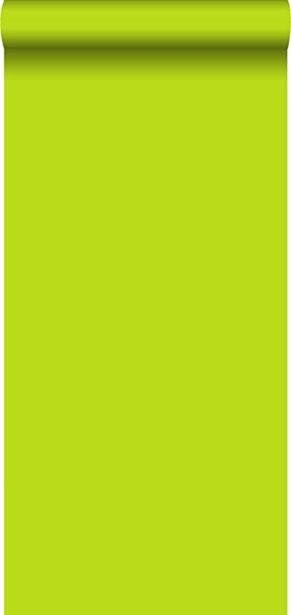Wallpaper Plain Lime Green 137015 From Estahome Nl