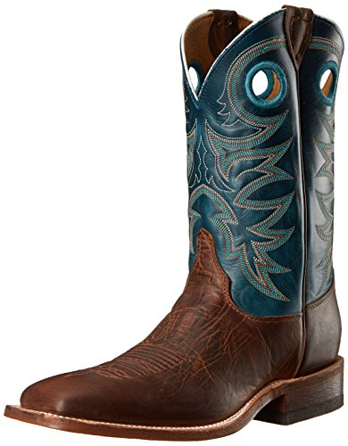 1 inch Bent Rail Riding Boot, Rough Rider Copper/Soft Topaz, 8 D US ()