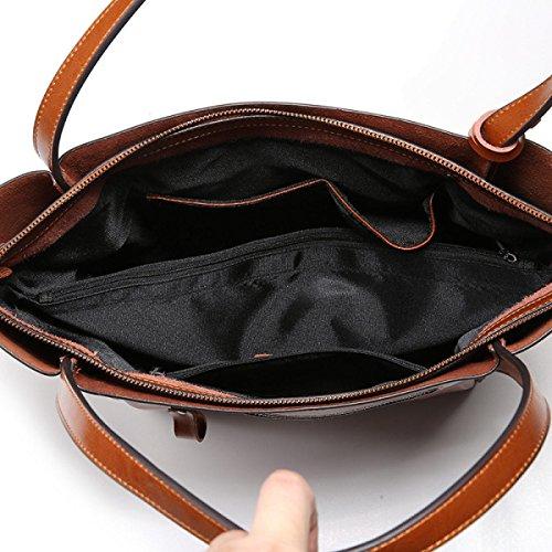 Bolso De Hombro De La Moda Coreana Señoras Ocasionales Del Bolso Brown