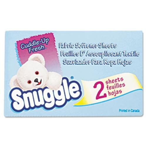 Diversey 2979929 Snuggle Dryer Sheets for Vending, Plastic, 1'' x 1'' x 1'' (Pack of 100) by Diversey