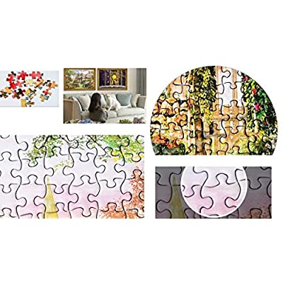 Marvelous Monkey 1000 Pieces - Rose Corridor Jigsaw Puzzles Challenge Game for Adults and Kids: Toys & Games