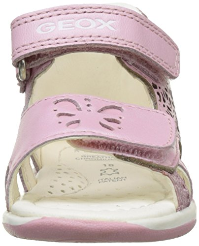 Geox B Sandal Tapuz Girl C, Botines de Senderismo para Bebés Rosa (LT PINKC8010)