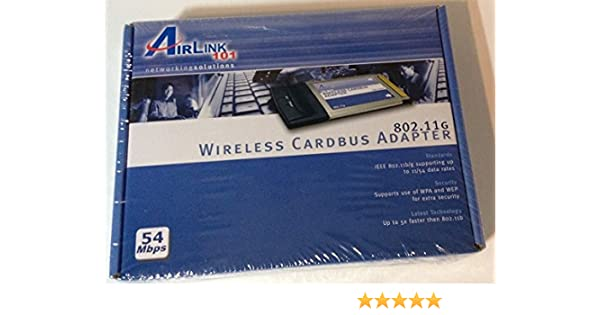 AIRLINK CARDBUS WINDOWS 7 64BIT DRIVER