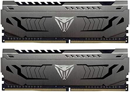 2 X 8GB PC4 29800 Patriot Viper 4 Series 16GB Kit DDR4 DRAM Kit 3733 MHz PV416G373C7K