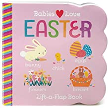 Easter Chunky Lift-a-Flap Board Book (Babies Love)