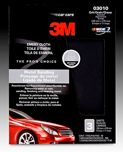 3M 03110 5'' Fine Adhesive Backed Sanding Disc (Pack of 8)