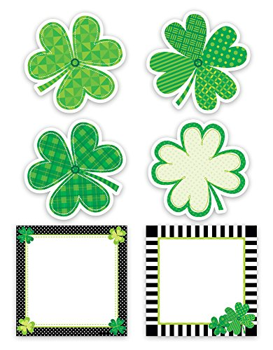 Creative Teaching Press Happy St. Patrick's Day Designer Cut-Outs (3896)