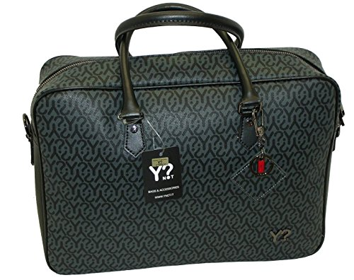 BORSA LAVORO YNOT COLLECTION Y020 CARTELLA PORTADOCUMENTI E NOTEBOOK NERO