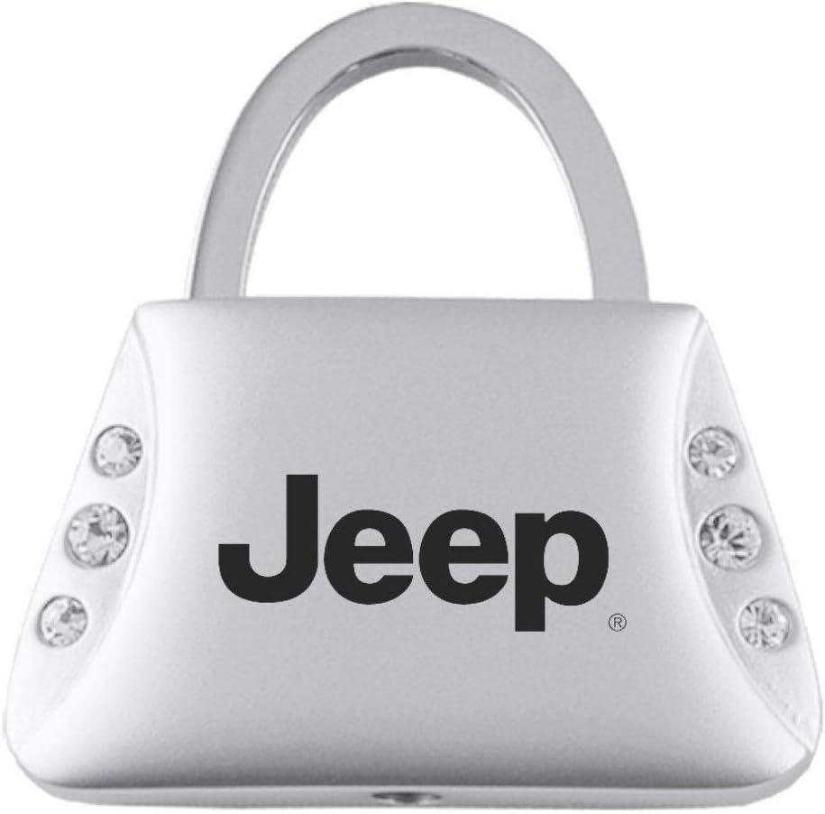 Jeep Keychain Name Logo Chrome Valet Key Fob Metal Key Ring Lanyard mopar
