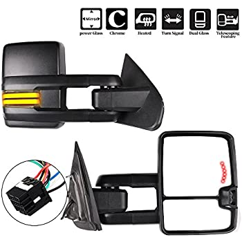 Amazon Com Scitoo Fit Chevy Gmc Towing Mirrors Puddle