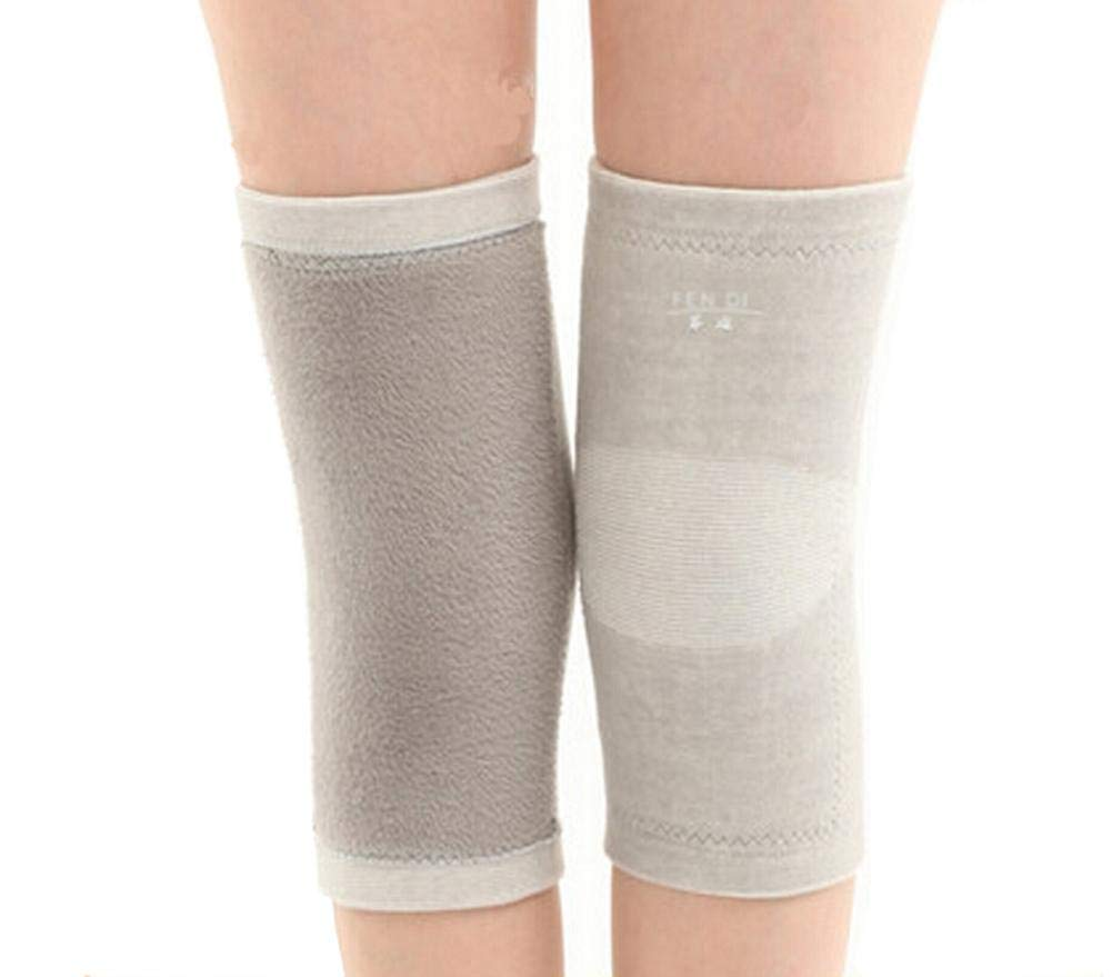 Soft Knee Brace Sleeve for Sports-Yoga-Dance-Arthritis-Joint Pain Gray (m)