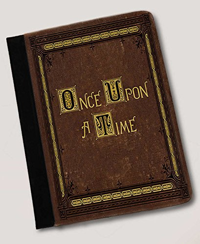 Once Upon A Time Fairytale Book Inspired Folio Case. ipad mini , canvas & leather Gear for ipad cases -