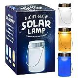 LED Solar Lantern Decorative Sun Jar Solar Light in Mason Jar with Handle blue