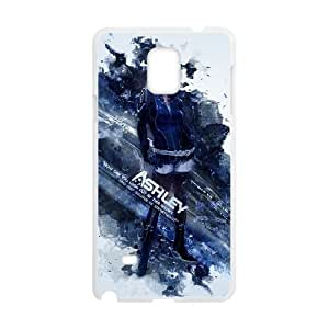 Mass Effect 3 Samsung Galaxy Note 4 Cell Phone Case White xlb2-067029
