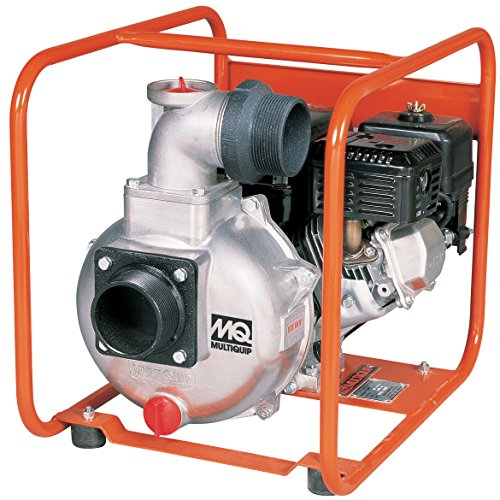Multiquip QP303H Gasoline Powered Centrifugal Pump with Honda Motor, 5.5 HP, 245 GPM, 3
