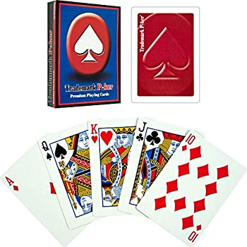 Amazon.com: Trademark Poker Premium – Juego de cartas (6 ...