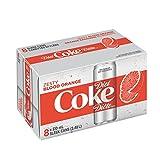 Diet Coke Zesty Blood Orange, 310mL cans, Pack of 8