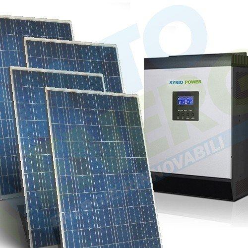 Kit fotovoltaico de 9 KW a 48 V