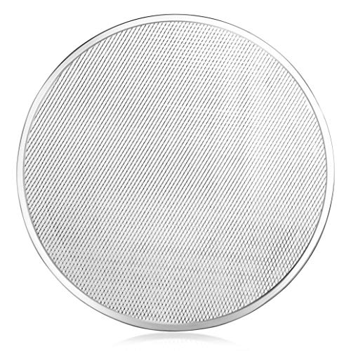 New Star Foodservice 50066 Pizza / Baking Screen, Seamless, Commercial Grade, Aluminum, 20 inch, Pack of 12