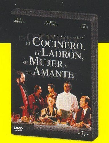 The Cook the Thief His Wife & Her Lover ( The Cook, the Thief, His Wife and Her Lover ) [ NON-USA FORMAT, PAL, Reg.2 Import - Spain ] by Richard Bohringer