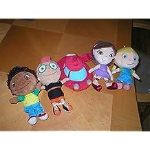 Disney Baby Little Ensteins Plush Set of 5: Rocket Annie Leo June Quincy