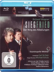 Wagner: Siegfried / St. Clair, Staatskapelle Weimar (St. Clair Ring Cycle Part 3) [Blu-ray] [Import]
