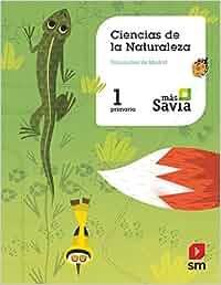 Ciencias de la naturaleza. 1 Primaria. Más Savia. Madrid