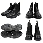 7color Womens Glitter Rain Boots Rubber Short Ankle Pull On
