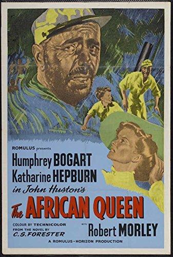 The African Model POSTER Movie (1951) UK Style A 27 x 40 Inches - 69cm x 102cm (Humphrey Bogart)(Katharine Hepburn)(Robert Morley)(Peter Bull)(Theodore Bikel)(Walter Gotell)(Peter Swanwick)