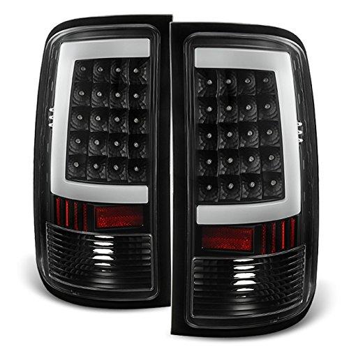 07-13 Sierra 1500 07-14 Sierra 2500 3500 HD Pickup Truck Black G2 LED Tail Lights Brake Lamps Pair hot sale