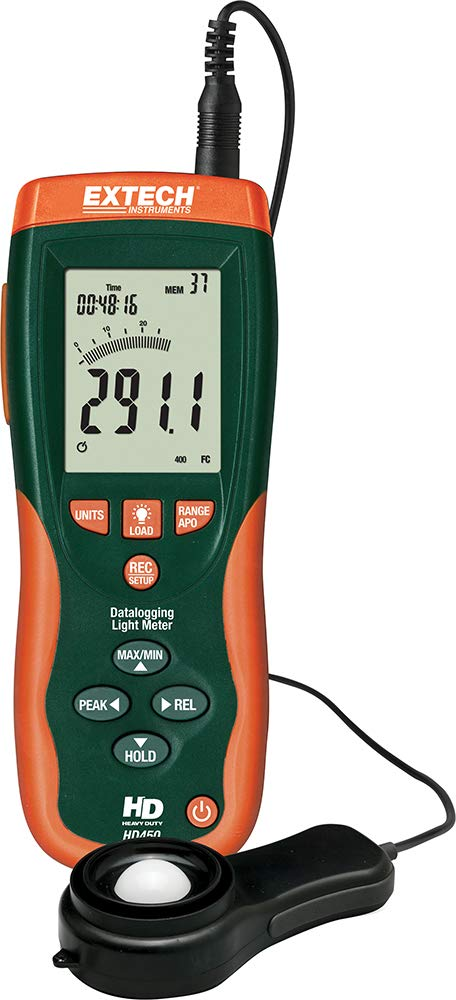 Extech HD450 Datalogging Heavy Duty Light Meter by Extech