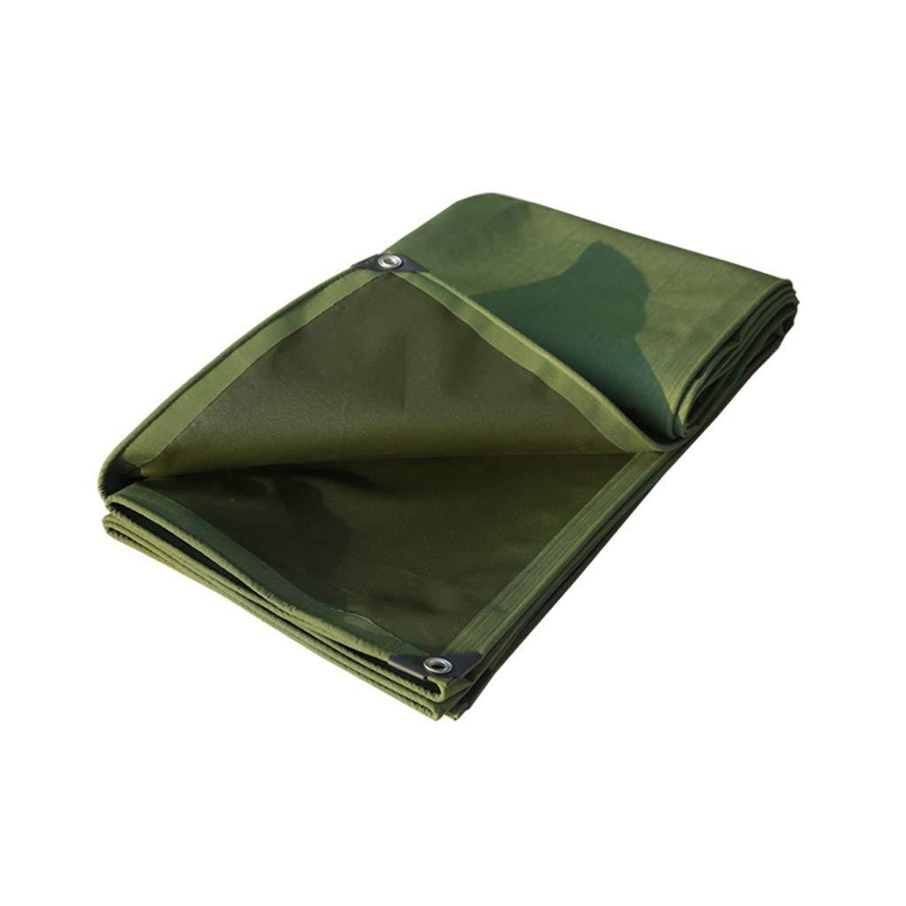 TFINER Telo Impermeabile Resistente all'Acqua - telone di Copertura - Copertura di qualità Premium Realizzata con telone da 730 Grammi Metro Quadrato (Dimensioni   2 × 2 m)