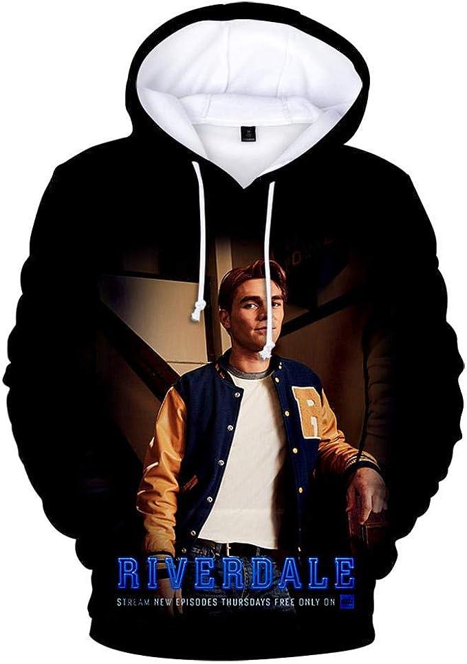 Riverdale Print Hoodie Herren und Damen Hooded Sweatshirt