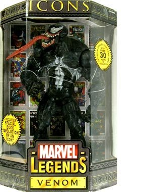 MARVEL LEGENDS ICONS VENOM COLLECTOR'S EDITION 12