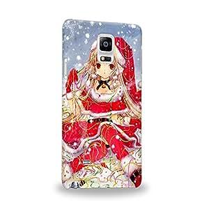 Case88 Premium Designs Chobits Chobits 00 Chi 1465 Carcasa/Funda dura para el Samsung Galaxy Note 4